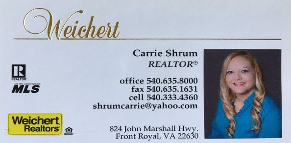 Shenandoah County VA Real Estate