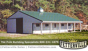 Amish pole barn for Amish built pole barn houses